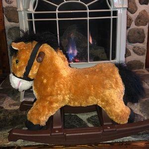 Rockin' Rider Thunder Jr. Rocking Pony